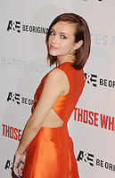 WWW.BLUESTAR-IMAGES.COM   Actress Olivia Cooke arrives at the premiere party for A&E's Season 2 of 'Bates Motel' and the series premiere of 'Those Who Kill' at Warwick on February 26, 2014 in Los Angeles, California.<br /> Photo: BlueStar Images/OIC jbm1005  +44 (0)208 445 8588