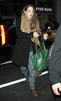 NEW YORK, NY - JANUARY 8: Jemima Kirke at NBC's Today Show in New York City. January 8, 2013. Credit: RW/MediaPunch Inc. /NortePhoto /NortePhoto
