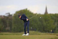Ronan Mullarney (Galway) on the 5th tee during Round 3 of the Lytham Trophy, held at Royal Lytham & St. Anne's, Lytham, Lancashire, England. 05/05/19<br /> <br /> Picture: Thos Caffrey / Golffile<br /> <br /> All photos usage must carry mandatory copyright credit (© Golffile | Thos Caffrey)