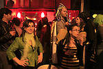 Israel, Tel Aviv-Yafo, Purim street party at Florentine neighborhood