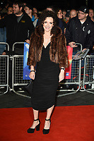 "Gillian Berrie<br /> arriving for the London Film Festival screening of ""Outlaw King"" at the Cineworld Leicester Square, London<br /> <br /> ©Ash Knotek  D3446  17/10/2018"