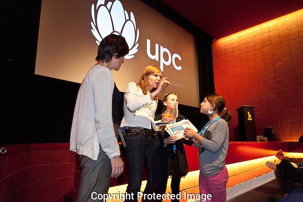 UPC familiedag in de Rembrand bioscoop. Foto: Nichon Glerum.Utrecht, 26 sept - 4 okt 2012.Nederlands Film Festval 2012, NFF.2012, NFF12.