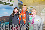 Kellie Doherty from Killarney, Kay Lynch from Tralee and Mary Walsh from Killarney pictured at the National Ploughing Championship in Wexford last Tuesday.