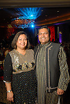Pretti and Umesh Verma at the World Trade Gala at the Hotel ZaZa Saturday Aug. 29, 2009.(Dave Rossman/For the Chronicle)