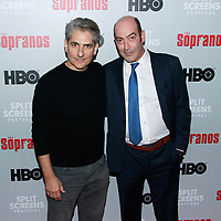NEW YORK, NY - JANUARY 9: Michael Imperioli and John Ventimiglia  at &ldquo;The Sopranos&quot; 20th Anniversary Panel Discussion at SVA Theater on January 9, 2019 in New York City. <br /> CAP/MPI99<br /> &copy;MPI99/Capital Pictures