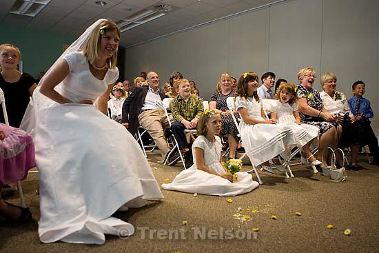Maddie Quayle, Dave Scott wedding.Monday August 3, 2009 in South Jordan. camilla wickman, drew, parker
