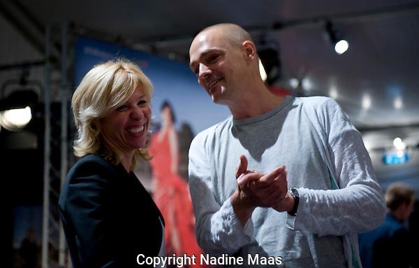 Utrecht, 29 september 2010.Talkshow Claudia de Breij, Jan Pieter Ekker.Foto: Nadine Maas