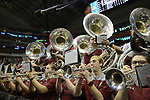 DALLAS, TX - APRIL 2: South Carolina pep band plays before South Carolina takes on Mississippi State during the 2017 Women's Final Four at American Airlines Center on April 2, 2017 in Dallas, Texas. (Photo by Evert Nelson/NCAA Photos via Getty Images)