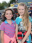 Sonia Sing and Ella Sorcha pictured at the 50th anniversary family fun day at Termonfeckin Credit Union. Photo:Colin Bell/pressphotos.ie
