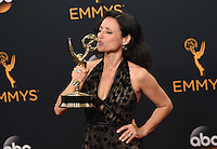 Julia Louis Dreyfus @ the 2016 Emmy Awards held @ the Microsoft theatre. September 18, 2016