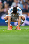 Marco Asensio Willemsen of Real Madrid reacts during the La Liga 2017-18 match between Real Madrid and Athletic Club Bilbao at Estadio Santiago Bernabeu on April 18 2018 in Madrid, Spain. Photo by Diego Souto / Power Sport Images
