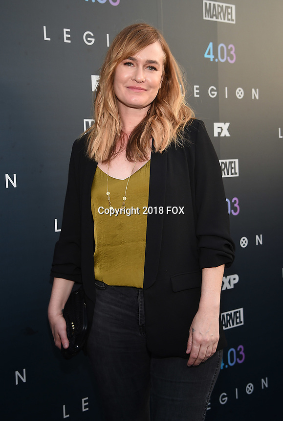 "LOS ANGELES, CA - APRIL 2: Music Supervisor Maggie Phillips attends the season two premiere of FX's ""Legion"" at the DGA Theater on April 2, 2018 in Los Angeles, California. (Photo by Frank Micelotta/FX/PictureGroup)"