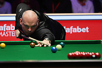 19th january 2020, Alexandra palace, London, United Kingdom;  Stuart Bingham of England plays a shot during the final match against Ali Carter of England at Snooker Masters 2020 at the Alexandra Palace in London