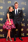 BURBANK - APR 26: Justin Hartley, Chrishell Stause at the 42nd Daytime Emmy Awards Gala at Warner Bros. Studio on April 26, 2015 in Burbank, California