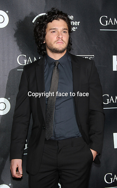 """NEW YORK, NY - MARCH 27: Kit Harington at the """"Game Of Thrones"""" The Exhibition New York Opening at 3 West 57th Avenue on March 27, 2013 in New York City...Credit: MediaPunch/face to face..- Germany, Austria, Switzerland, Eastern Europe, Australia, UK, USA, Taiwan, Singapore, China, Malaysia and Thailand rights only -"""