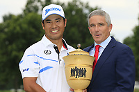 Hideki Matsuyama (JPN) wins the tournament by 5 shots after shooting 61 during Sunday's Final Round of the WGC Bridgestone Invitational 2017 held at Firestone Country Club, Akron, USA. 6th August 2017.<br /> Picture: Eoin Clarke | Golffile<br /> <br /> <br /> All photos usage must carry mandatory copyright credit (&copy; Golffile | Eoin Clarke)