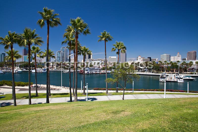 Rainbow Harbor And Marina Long Beach