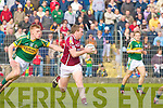Kerry's Tommy Walsh and Galway's Barry Cullinane.