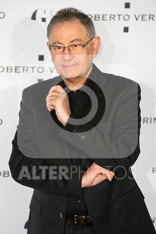 "Roberto Verino during the presentation of the new Spring-Summer collection ""Un Balcon al Mar"" of Roberto Verino at Platea in Madrid. March 16, 2016. (ALTERPHOTOS/Borja B.Hojas)"
