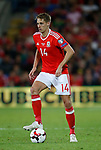 Dave Edwards of Wales during the World Cup Qualifying Group D match at the Cardiff City Stadium, Cardiff. Picture date 2nd September 2017. Picture credit should read: Simon Bellis/Sportimage