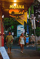 Moana Bakery & Cafe in downtown Paia