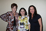 Faygie Levy (RT Bookreviews and moderator of panel) poses with Carolyn Hennesy & Jackie Zeman at Romantic Times Booklovers Annual Convention 2011 - The Book Industry Event of the Year - April 8, 2011 at the Westin Bonaventure, Los Angeles, California for readers, authors, booksellers, publishers, editors, agents and tomorrow's novelists - the aspiring writers. (Photo by Sue Coflin/Max Photos)