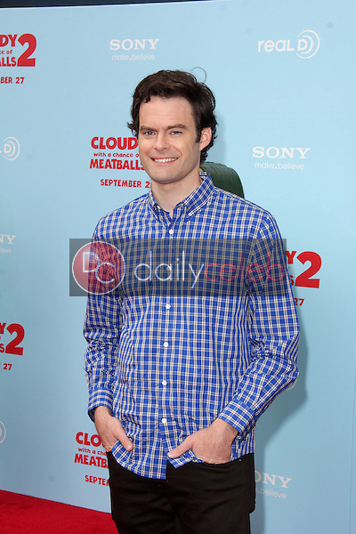 """Bill Hader<br /> at the """"Cloudy With A Chance of Meatballs 2"""" Los Angeles Premiere, Village Theater, Westwood, CA 09-21-13<br /> David Edwards/Dailyceleb.com 818-249-4998"""