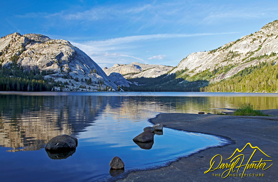 Tenaya Lake, Tenaya Dome, reflection, Yosemite National Park