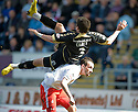 10/04/2010   Copyright  Pic : James Stewart.sct_jsp06_falkirk_v_st_mirren  .::  GRAHAM CAREY GOES OVER THE TOP OF MARK STEWART  ::  .James Stewart Photography 19 Carronlea Drive, Falkirk. FK2 8DN      Vat Reg No. 607 6932 25.Telephone      : +44 (0)1324 570291 .Mobile              : +44 (0)7721 416997.E-mail  :  jim@jspa.co.uk.If you require further information then contact Jim Stewart on any of the numbers above.........