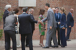 Spanish Royals Prince Felipe of Spain and Princess Letizia of Spain attend the Student Residence Annual Meeting in Madrid, Spain. June 11, 2013. (ALTERPHOTOS/Victor Blanco)