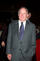 August 2001 File Photo of<br /> Quebec Premier Bernard Landry attending a projection  at the 25th World Film Festival, August 26, 2001 in Montreal, CANADA.<br /> <br /> <br /> <br /> <br /> Photo by Pierre Roussel / <br /> <br /> NOTE : raw jpeg from Nikon D 1, openened with QUIMAGE ICC profile