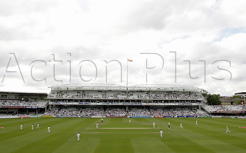 26 May 2005: General view of the ground looking towards the Grand Stand during the first day of the first test between England and Bangladesh, at Lords, London. Photo: Steve Bardens/Actionplus..050526 venues