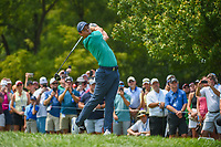 Rory McIlroy (NIR) watches his tee shot on 12 during 4th round of the 100th PGA Championship at Bellerive Country Club, St. Louis, Missouri. 8/12/2018.<br /> Picture: Golffile   Ken Murray<br /> <br /> All photo usage must carry mandatory copyright credit (© Golffile   Ken Murray)
