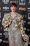 Najwa Nimri attends to 33rd Goya Awards at Fibes - Conference and Exhibition  in Seville, Spain. February 02, 2019. (ALTERPHOTOS/A. Perez Meca)