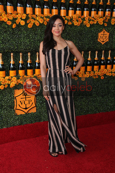 Aimee Garcia<br /> at the Sixth-Annual Veuve Clicquot Polo Classic, Will Rogers State Historic Park, Pacific Palisades, CA 10-17-15<br /> David Edwards/Dailyceleb.com 818-249-4998