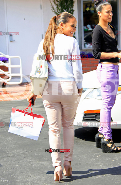 Christina Milian spotted shopping with a gal pal at Ron Herman and Fred Segal in West Hollywood. Los Angeles, California on 09.05.2012..Credit: Martin Smith/face to face /MediaPunch Inc. ***FOR USA ONLY***