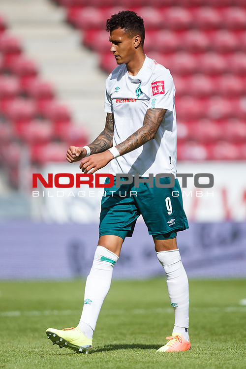 Davie Selke (SV Werder Bremen), <br /> <br /> Sport: Fussball: 1. Bundesliga:: nphgm001:  Saison 19/20: 33. Spieltag: 1. FSV Mainz 05 vs SV Werder Bremen 20.06.2020<br /> Foto: Neis/Eibner/Pool/via gumzmedia/nordphoto<br />