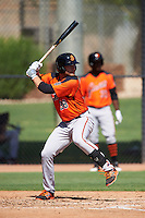 San Francisco Giants Heath Quinn (38) during an Instructional League game against the Chicago White Sox on October 10, 2016 at the Camelback Ranch Complex in Glendale, Arizona.  (Mike Janes/Four Seam Images)