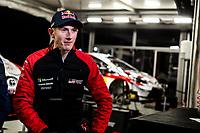 13th February 2020, Torsby base and Karlstad, Värmland County, Sweden; WRC Rally of Sweden, Shakedown event;  Elfyn Evans (GBR) -  Toyota Yaris WRC