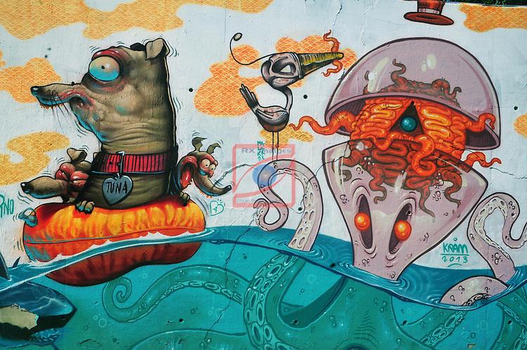 Graffitti Barcelona.