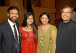 B. Sangani and N. Sangani with Sushma Shah and D. Shah at the Indian Film Festival Celebrity Gala at the InterContinental Hotel Saturday evening Sept. 26,2009. (Dave Rossman/For the Chronicle)