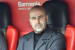 17.03.2019, BayArena, Leverkusen, GER, DFL, 1. BL, Bayer 04 Leverkusen vs SV Werder Bremen, DFL regulations prohibit any use of photographs as image sequences and/or quasi-video<br /> <br /> im Bild Peter Bosz (Bayer 04 Leverkusen) Portrait, halbportrait, Bild, einzel, Einzelaufnahme, picture, single, solo, alleine <br /> <br /> Foto © nph/Mauelshagen