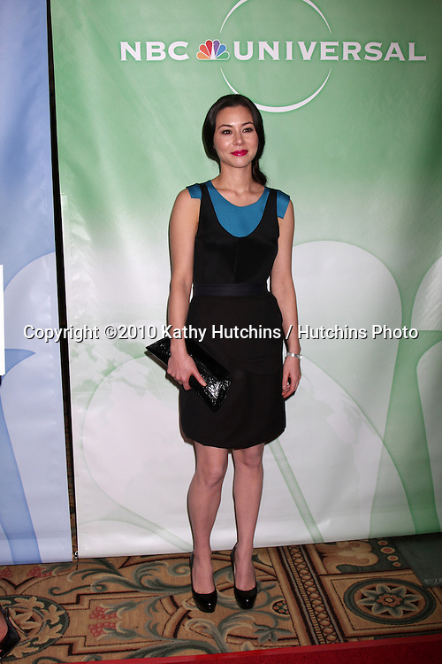 China Chow.arriving at the 2010 Winter NBC TCA Party .Langford Hotel.Pasadena, CA.January 10, 2010.©2010 Kathy Hutchins / Hutchins Photo....