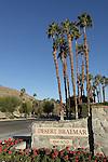 Entrance sign at Desert Braemar