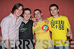 0021-0024..Key to the Door - Adrian Kenny from Ballyheigue, 3rd from left, celebrating his 21st birthday with friends Sean McMahon, John Carmody and Luke Whelan in The Blasket Inn on Saturday night.................   Copyright Kerry's Eye 2008