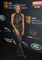 Skye P. Marshall  at the 2017 AMD British Academy Britannia Awards at the Beverly Hilton Hotel, USA 27 Oct. 2017<br /> Picture: Paul Smith/Featureflash/SilverHub 0208 004 5359 sales@silverhubmedia.com