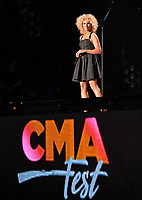 11 June 2017 - Nashville, Tennessee - Kimberly Schlapman, Little Big Town. 2017 CMA Music Festival Nightly Concert held at Nissan Stadium. Photo Credit: Laura Farr/AdMedia