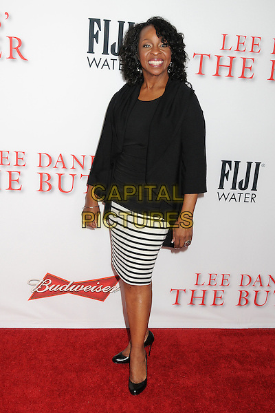 Gladys Knight<br /> &quot;Lee Daniels' The Butler&quot; Los Angeles Premiere held at Regal Cinemas L.A. Live, Los Angeles, California, USA.<br /> August 12th, 2013<br /> full length black top cardigan white stripe skirt <br /> CAP/ADM/BP<br /> &copy;Byron Purvis/AdMedia/Capital Pictures