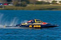 "Dan Kanfoush, A-600 ""Mr.Bud"", 2.5 Mod hydroplane"