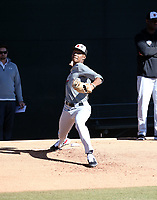 Markevian Hence participates in the 2020 MLB Dream Series on January 17-20, 2020 at the Los Angeles Angels training complex in Tempe, Arizona (Bill Mitchell)